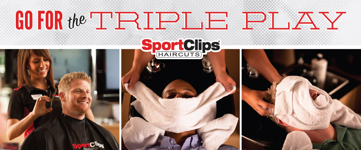 The Sport Clips Haircuts of Fenton (Gravois Bluffs)  Triple Play